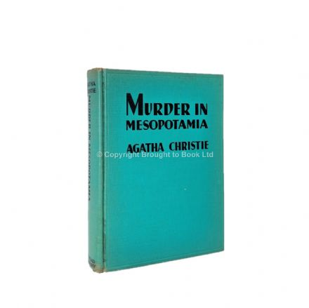 Murder In Mesopotamia by Agatha Christie First Edition Dodd Mead & Company 1936